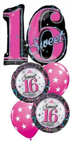Sweet 16th Sparkle Bouquet
